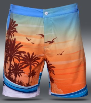 PEPP Underwear Beach Short Palms